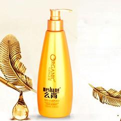 姜黄色洗发水