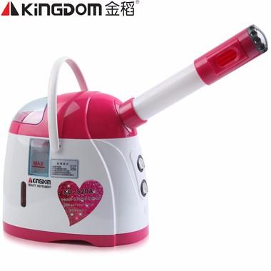 金稻冷喷蒸面器离子蒸脸机KD-520A 红色