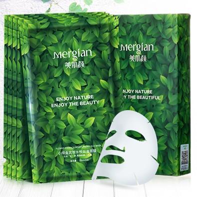 美肌颜  小绿盒花萃水悦丝滑面膜